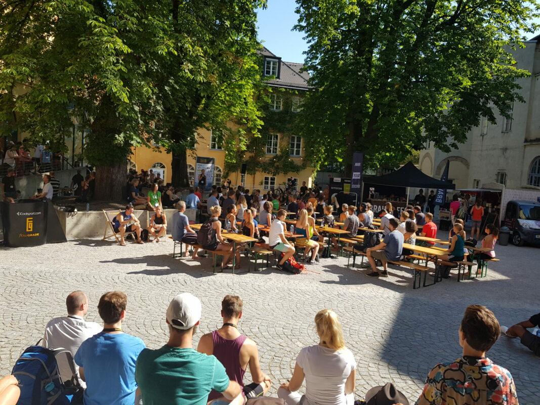 Eindrücke vom FlowFest 2019 in München. Biohacking Szene in Deutschland